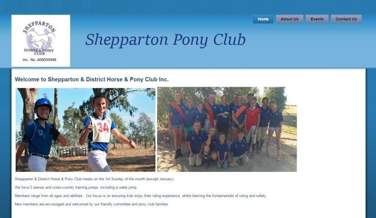 Shepparton Pony Club