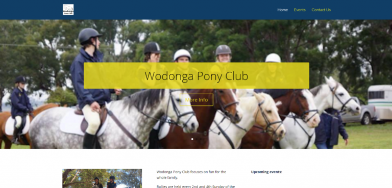 Wodonga Pony Club